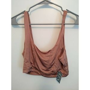 NWT Free People Be Cool Brami Top Size M Pink